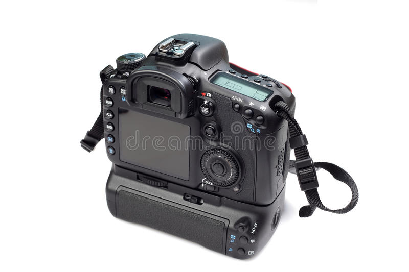 Download Dslr camera back view stock photo. Image of professional - 16222722
