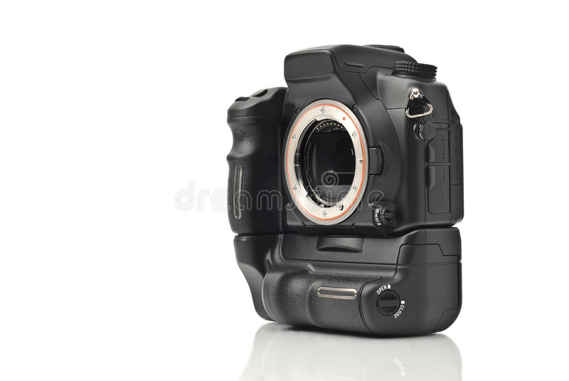 Download DSLR Camera Body Without Lenses Isolated Stock Image - Image: 11813409