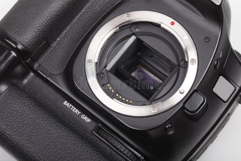 DSLR camera close-up. stock photos