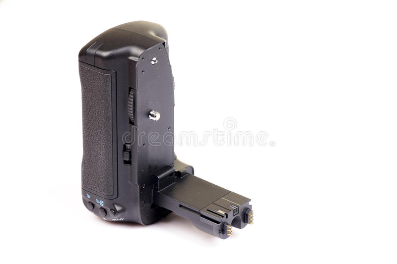 Dslr Camera Vertical Grip Royalty Free Stock Photography