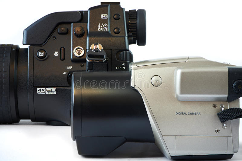Download DSLR cameras stock photo. Image of cameras, objective - 39513130