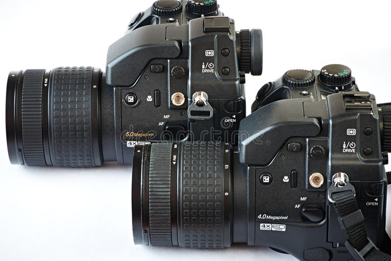 Download DSLR cameras stock image. Image of like, plastic, couple - 39513527