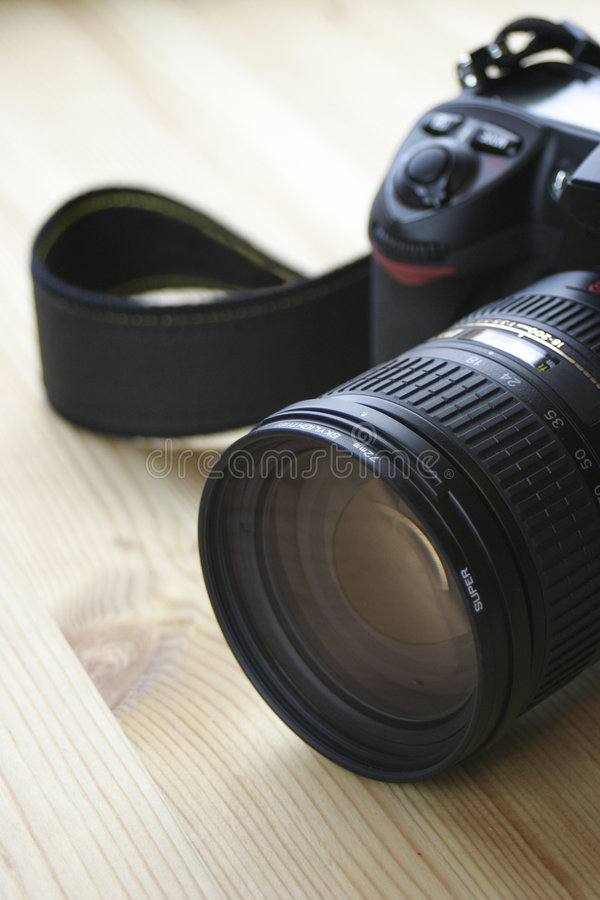 DSLR - Debadged fotografie stock