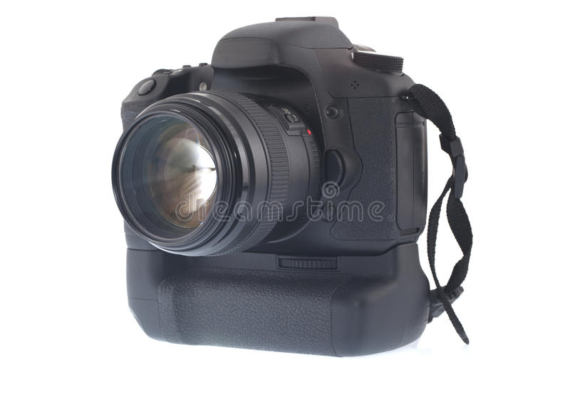 DSLR Digital Camera royalty free stock photo