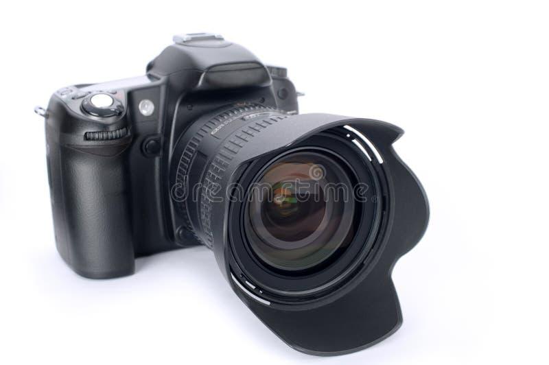 DSLR-kamera royaltyfri bild