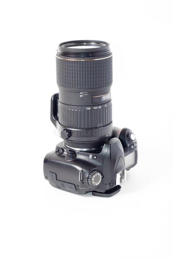 Dslr photocamera isolated