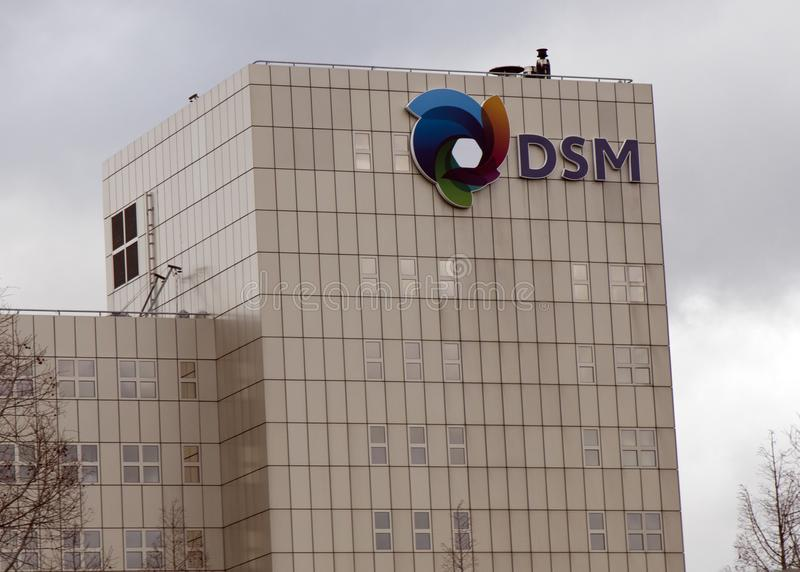 DSM headqyuarters in the Netherland stock photography