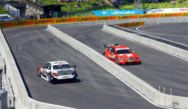 DTM In Munich Editorial Stock Image