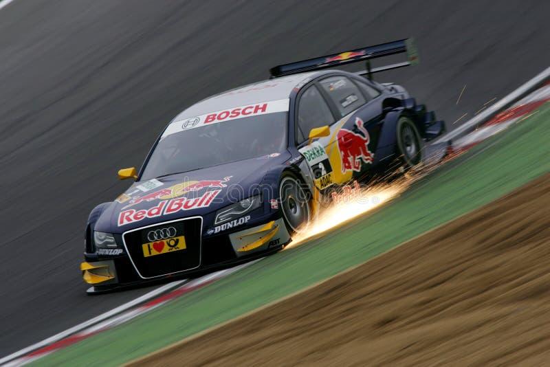 DTM Rennen lizenzfreies stockbild