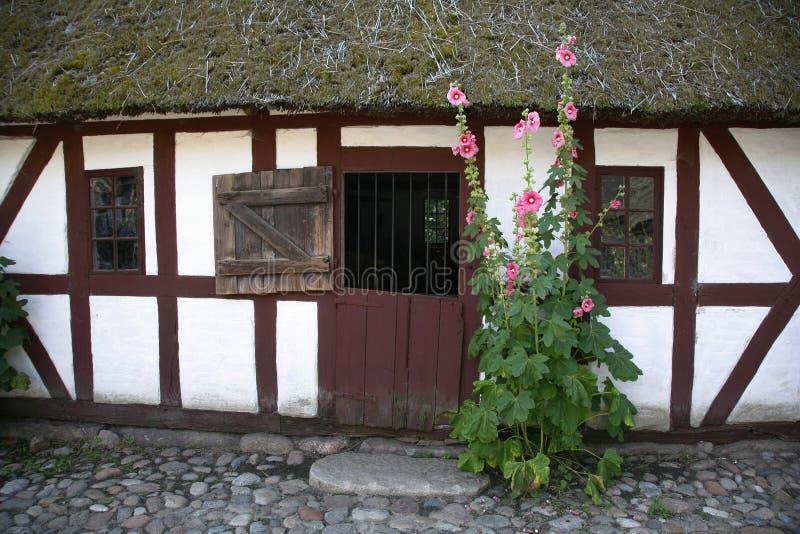 duński dom wiejski obrazy royalty free