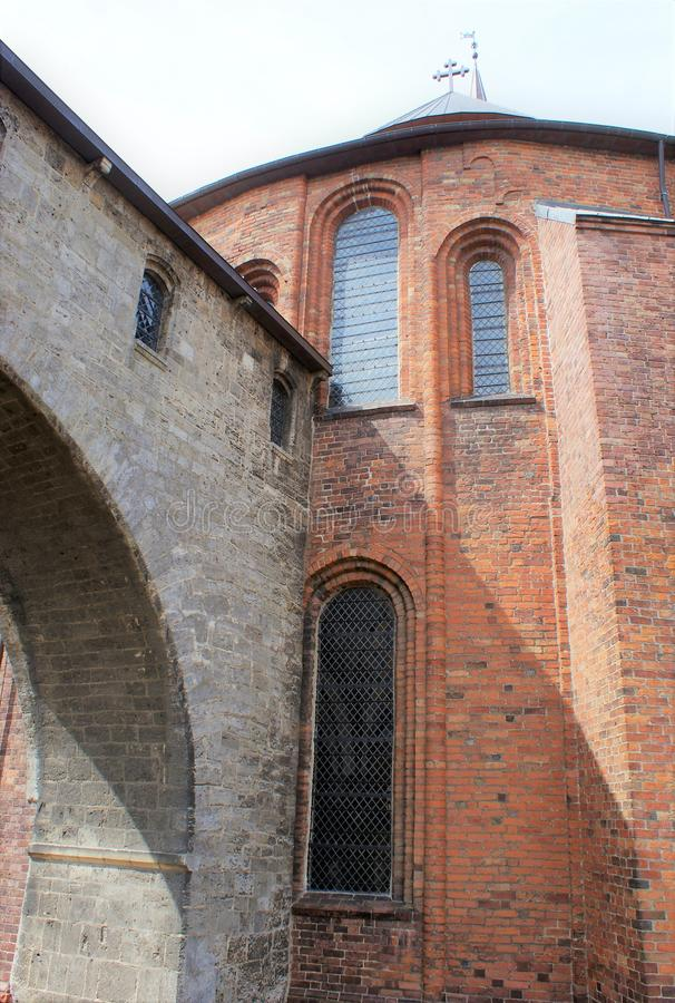 duński kościoła zdjęcie royalty free