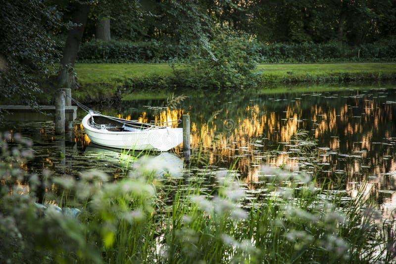 Duński krajobraz obrazy royalty free