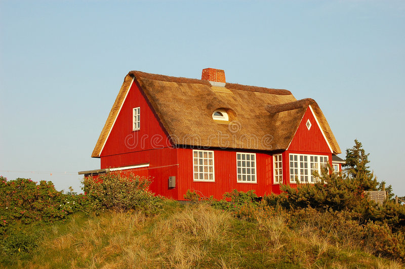 duński lato w domu zdjęcia stock