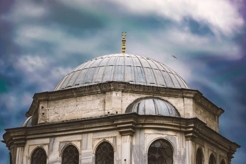 Duża kopuła meczet obraz royalty free