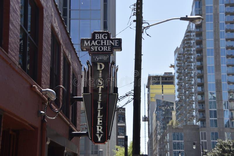 Du?a Maszynowa sklep destylarnia, Nashville, TN obrazy stock