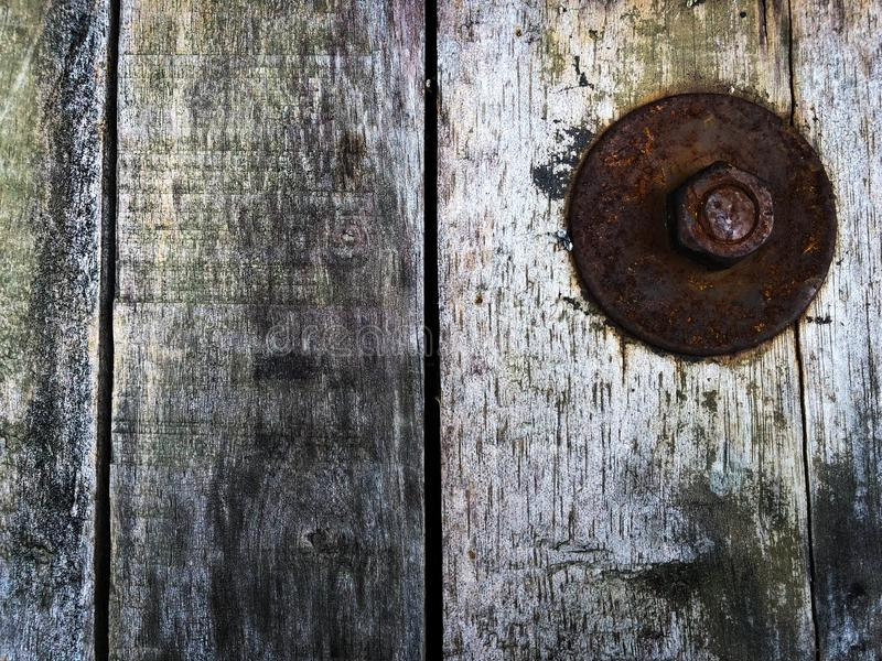 Duża płuczka w ośniedziałym czasie stary antykwarski drewniany tekstura obrazka tło w realistycznym obrazy stock