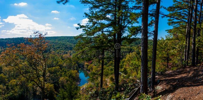 Duża Piney rzeka obraz stock