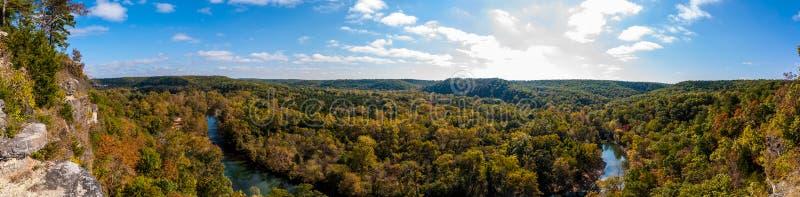 Duża Piney rzeka fotografia stock