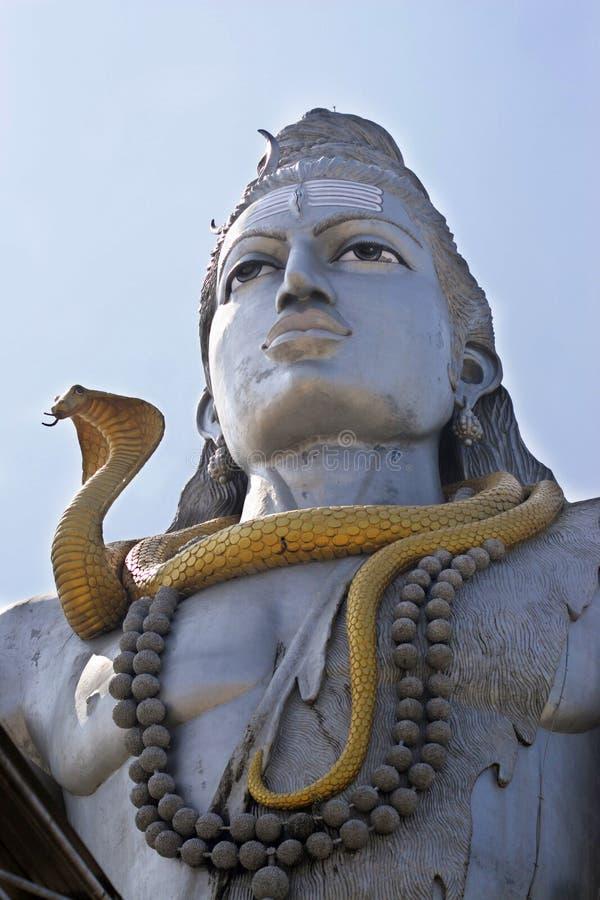 Duża Shiva statua w świacie zdjęcia stock
