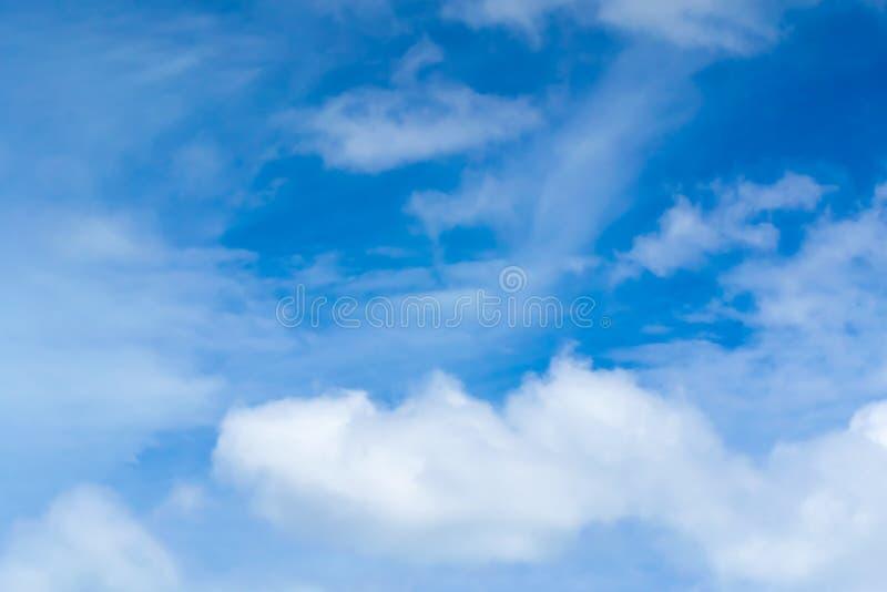 duże chmury fotografia stock