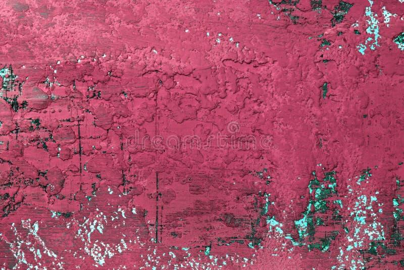 Duże dziury na brudnej sztukateryjnej teksturze - piękny abstrakcjonistyczny fotografii tło obrazy stock