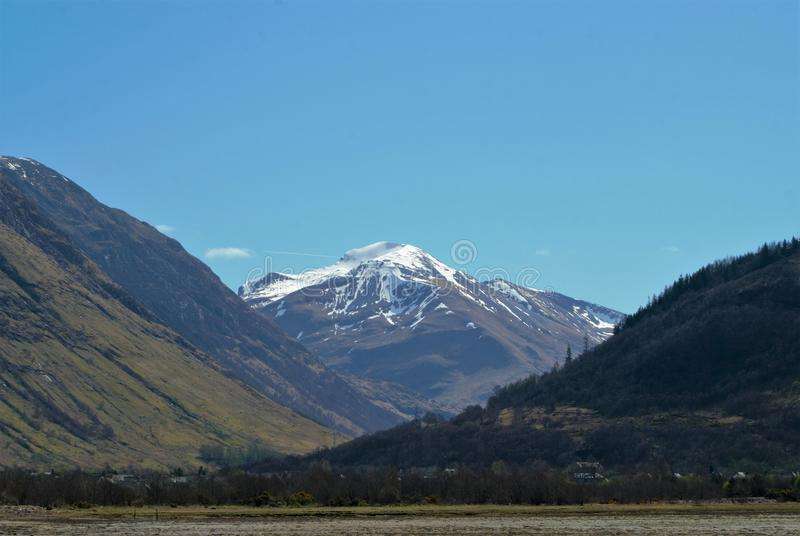duże krajobrazowe halne góry obrazy royalty free