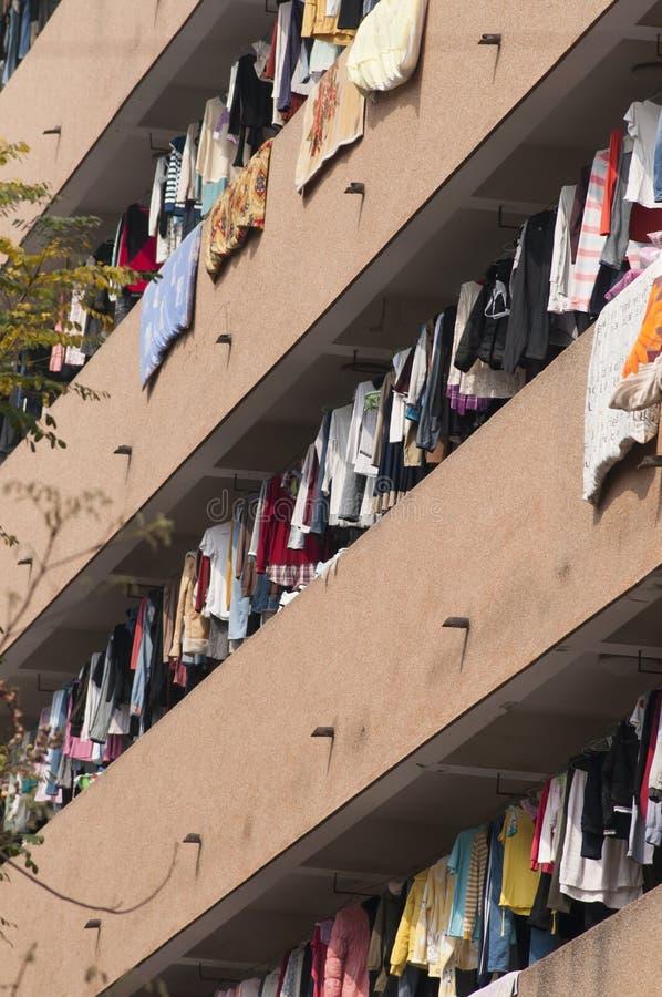 Chiński dormitorium, mieszkanie zdjęcia stock