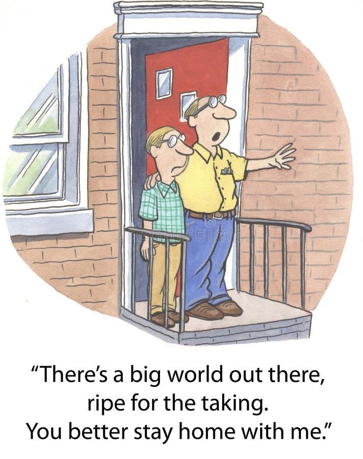 Duży świat ilustracja wektor