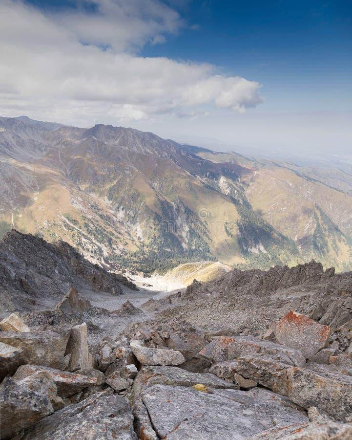 Duży Almaty szczyt obraz royalty free