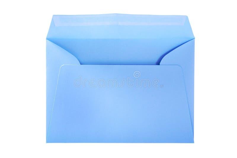 duży błękitny koperta zdjęcie royalty free