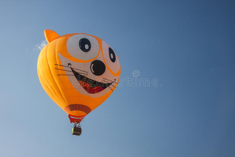 Duży balon na powietrzu zdjęcia stock