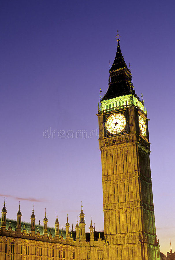 duży ben brytanii London united fotografia royalty free