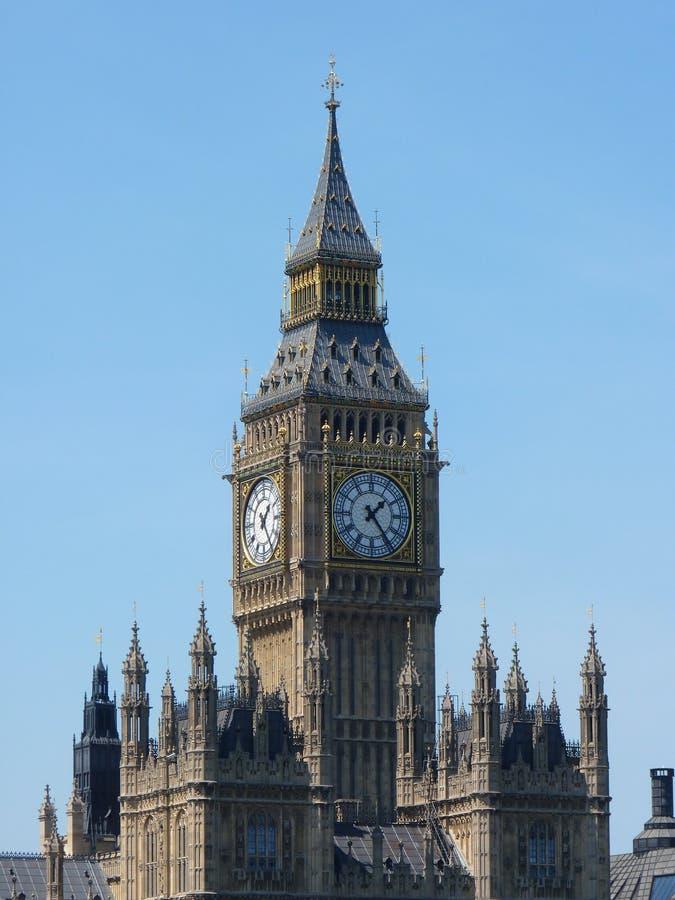 duży ben England London zdjęcie royalty free