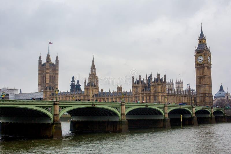 duży ben London obrazy stock