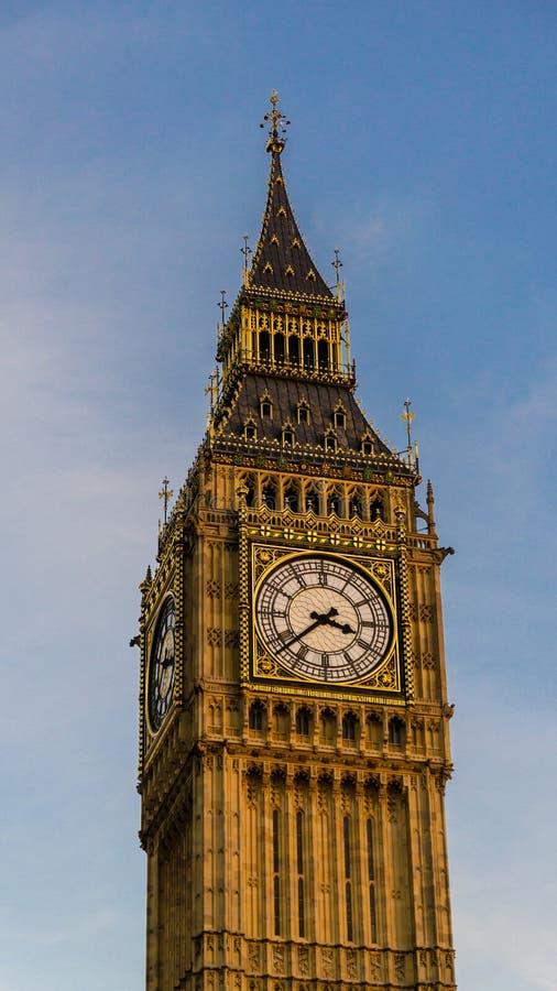duży ben London wielkiej brytanii obraz stock