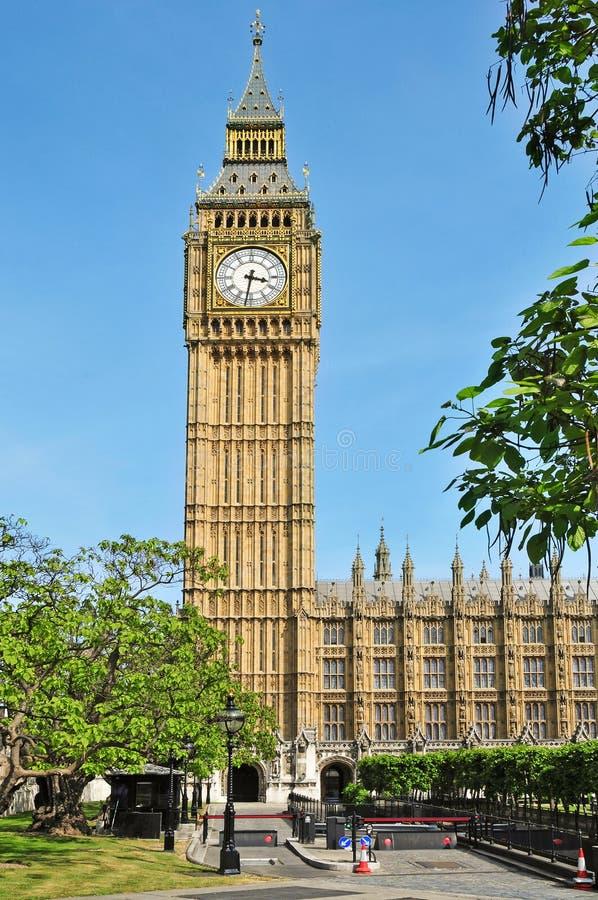 duży Ben pałac London Westminster zdjęcie stock
