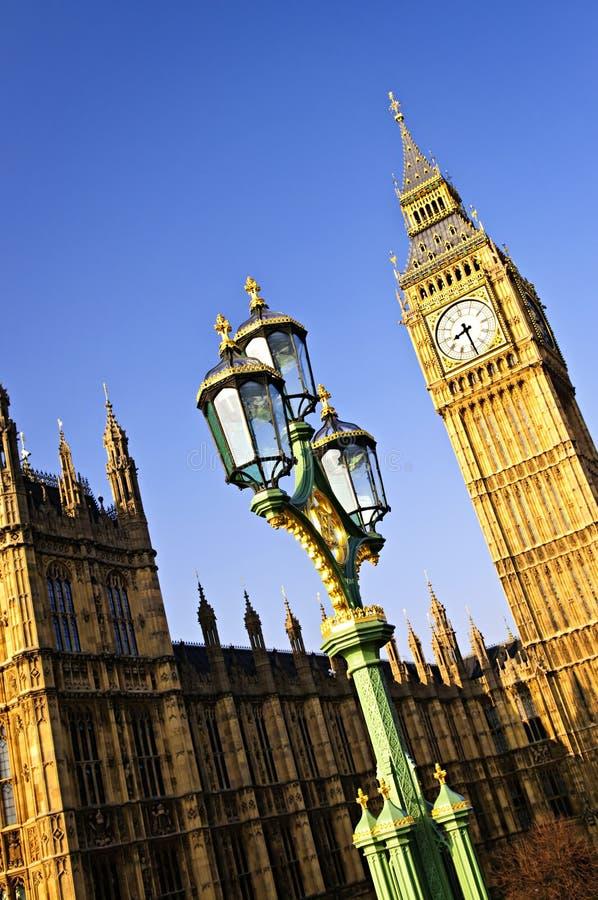duży Ben pałac Westminster zdjęcie royalty free