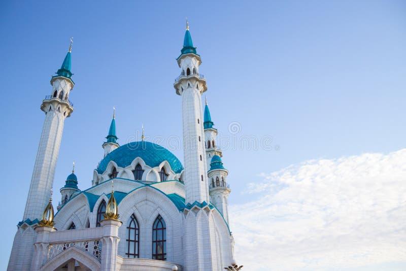 duży biały meczet zdjęcie royalty free