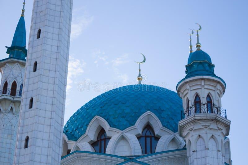 duży biały meczet obrazy royalty free