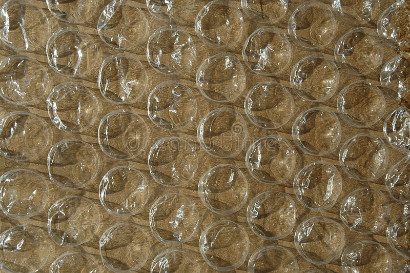 Duży Brązowy Bubble Okrycie Zdjęcia Stock