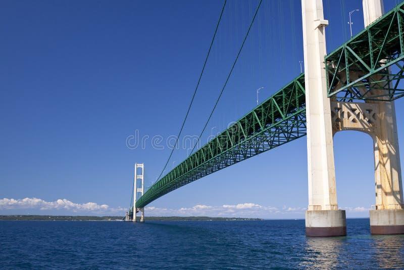 duży bridżowy mackinac fotografia stock