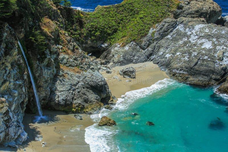 duży California spadać mcway sur fotografia stock