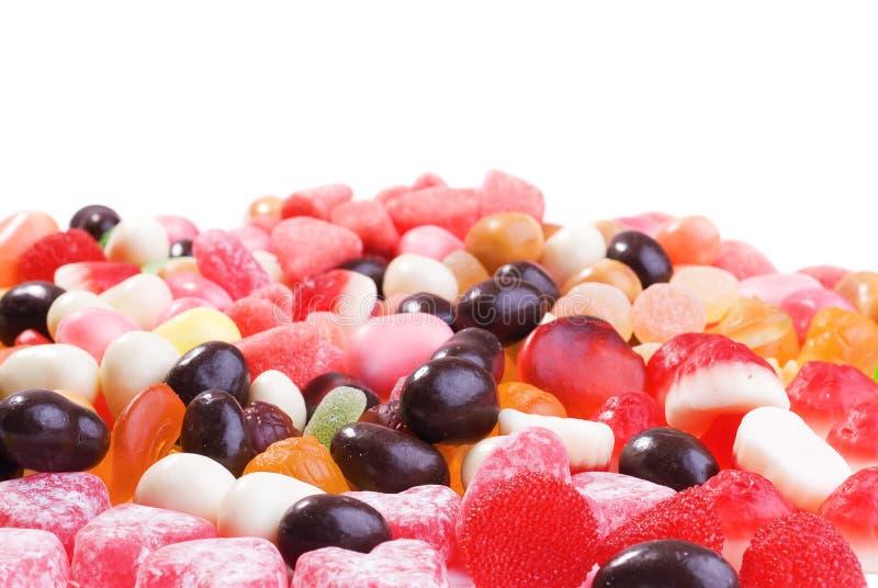 duży cukierków kolekci barwiona fotografia obraz royalty free