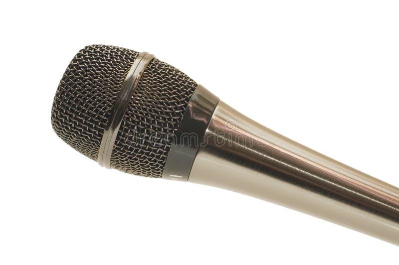 duży czarny mikrofon fotografia royalty free