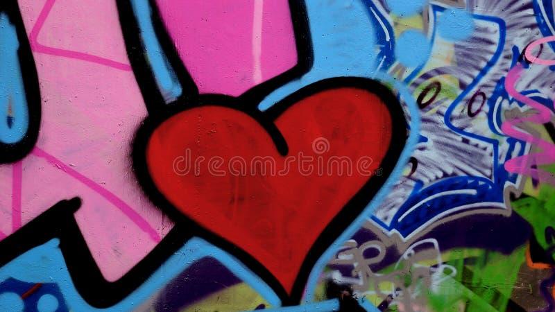 Duży czerwony serce fotografia royalty free