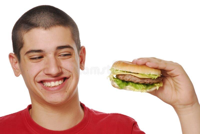 duży hamburger obrazy stock