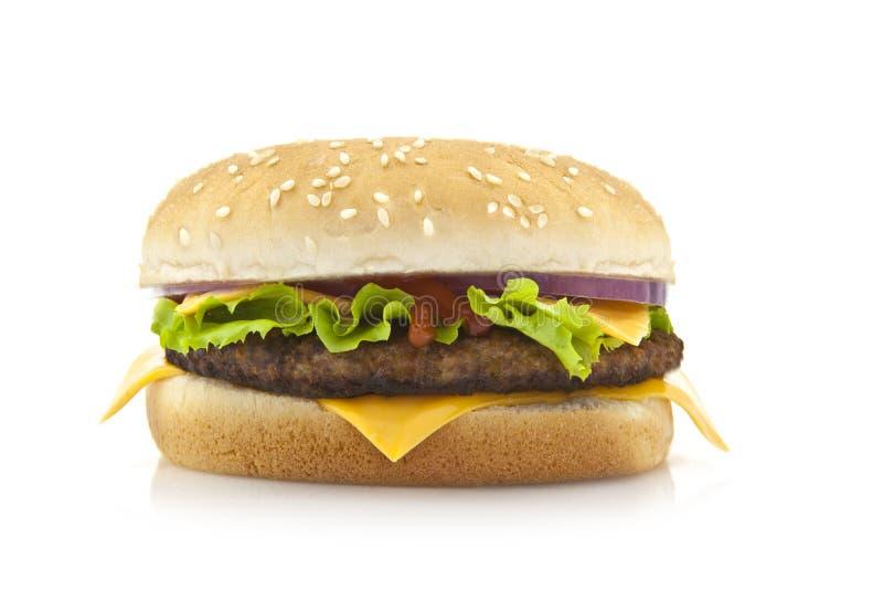 duży hamburger obrazy royalty free