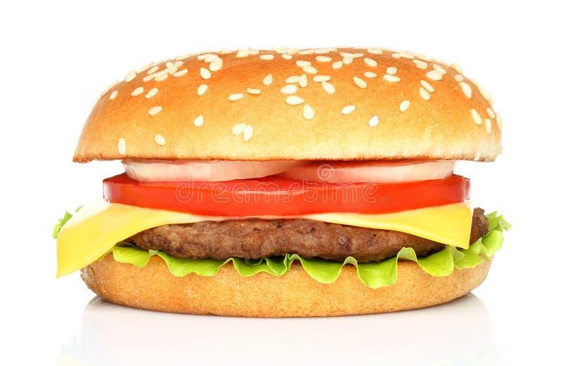 Duży hamburger obraz royalty free
