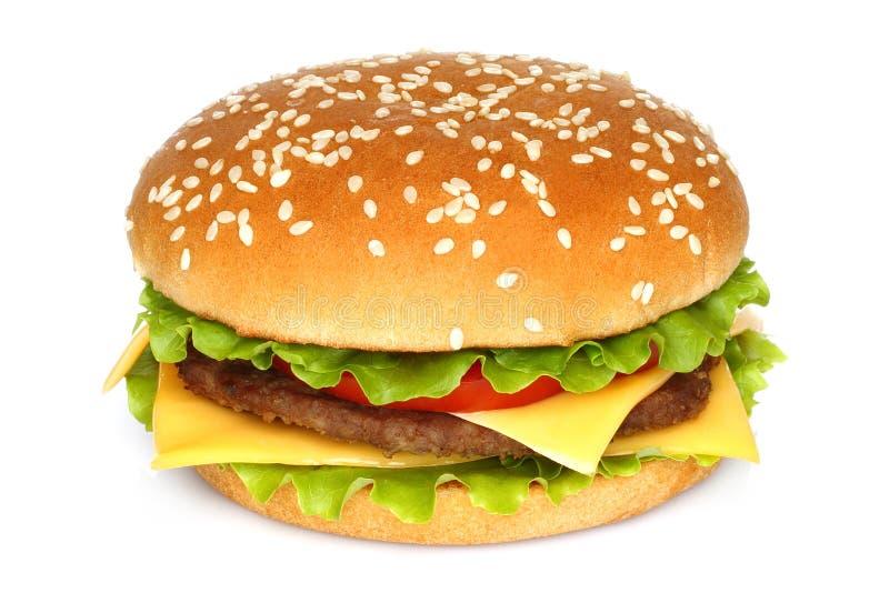 Duży hamburger zdjęcia stock