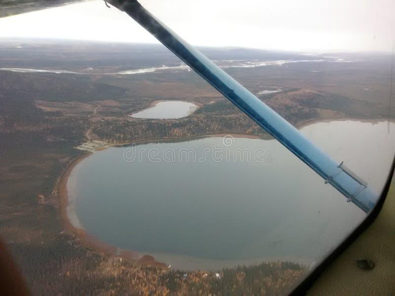 Duży jeziorny Alaska fotografia stock